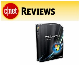 C|Net reviews Vista