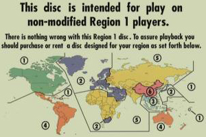 Regional codes