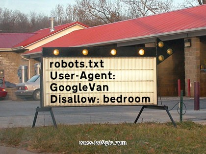 Robots txt for Google Maps