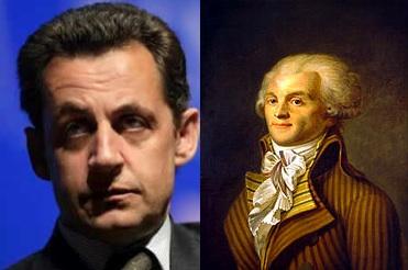 Sarkozy Robespierre