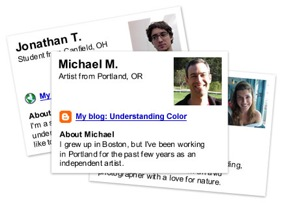 Google Profile Cards