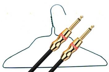 Monster cable vs coat hanger