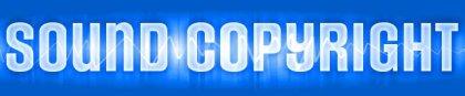 Sound copyright banner