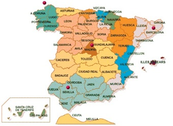 El apellido Dans en España