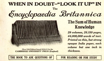 Encyclopedia Britannica 1913