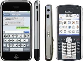 iPhone vs BlackBerry