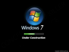 Windows 7 under construction
