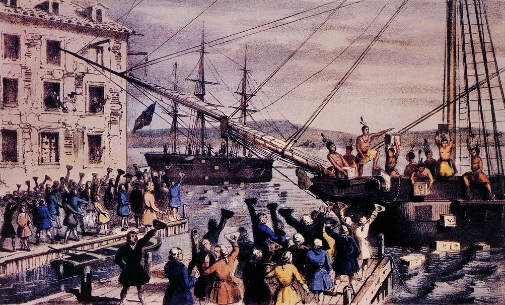 Boston Tea Party - Currier