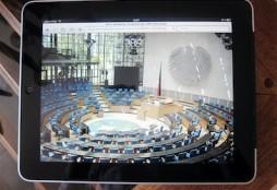 Bundestag-iPad