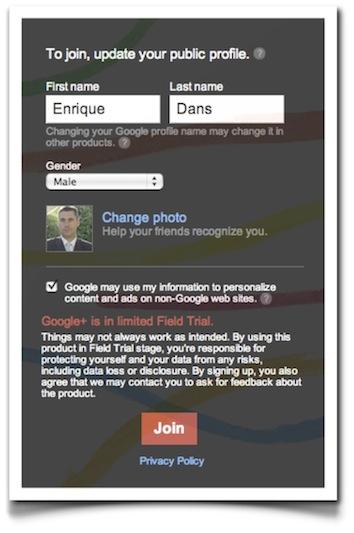 joingoogleplus - ¡Así es Google+, la red social de Google! ¡Consigue invitaciones!