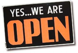 19991116 CTY OPEN. Yes we're open sign for MXR cover.