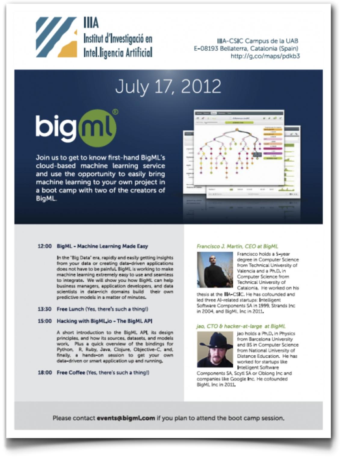 BigML, modelización e inteligencia artificial » Enrique Dans