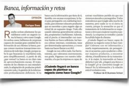 Banca, información y retos - Expansión
