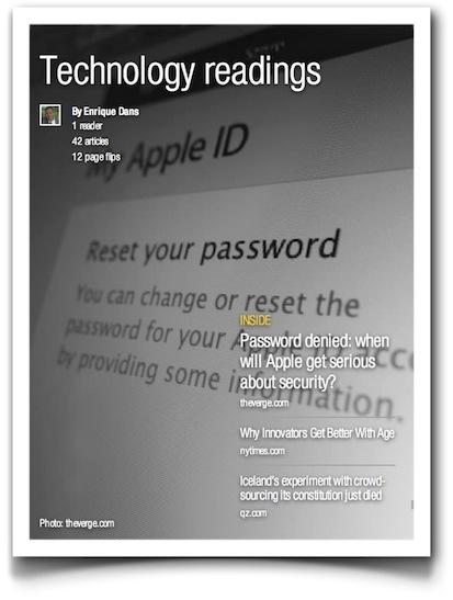 Enrique Dans' Technology readings - Flipboard