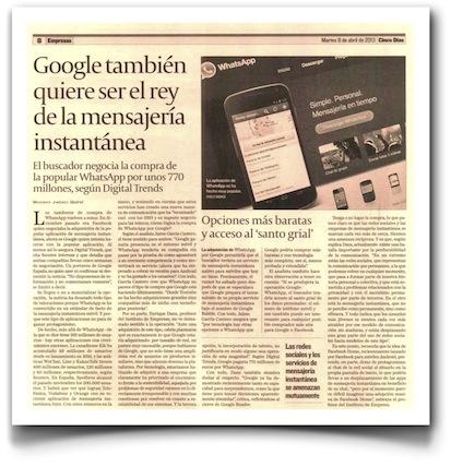 GoogleWhatsApp-CincoDias