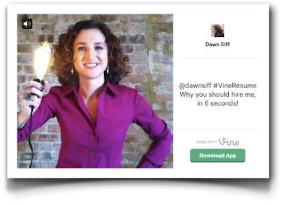 Dawn Siff - Vine CV