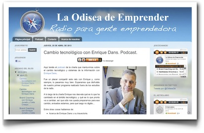 Cambio tecnológico con Enrique Dans (podcast) - La odisea de emprender