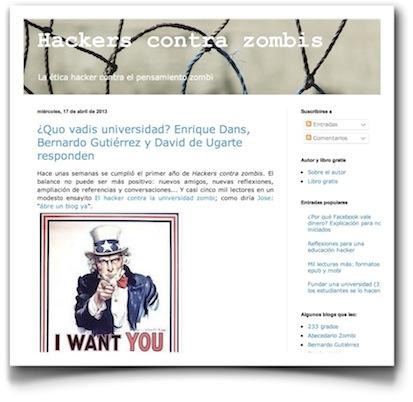 ¿Quo vadis universidad? Enrique Dans, Bernardo Gutiérrez y David de Ugarte responden - Hackers contra zombis