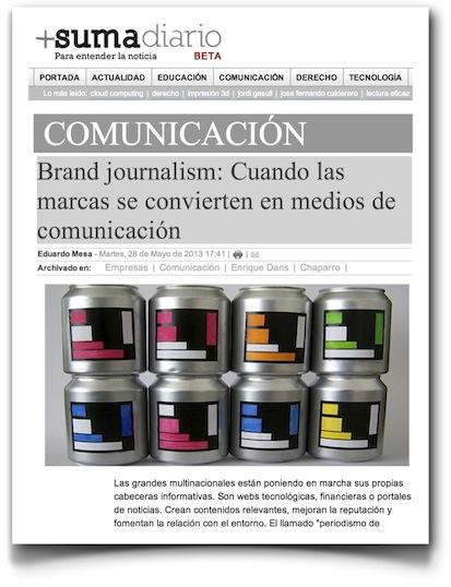 Brand journalism: Cuando las marcas se convierten en medios de comunicación - Sumadiario