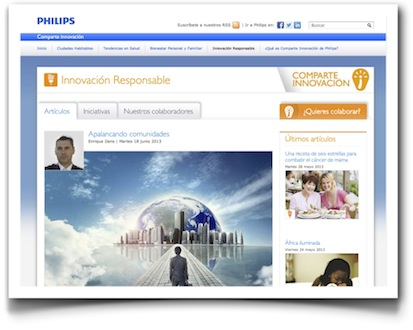 Apalancando comunidades - Philips comparte innovación