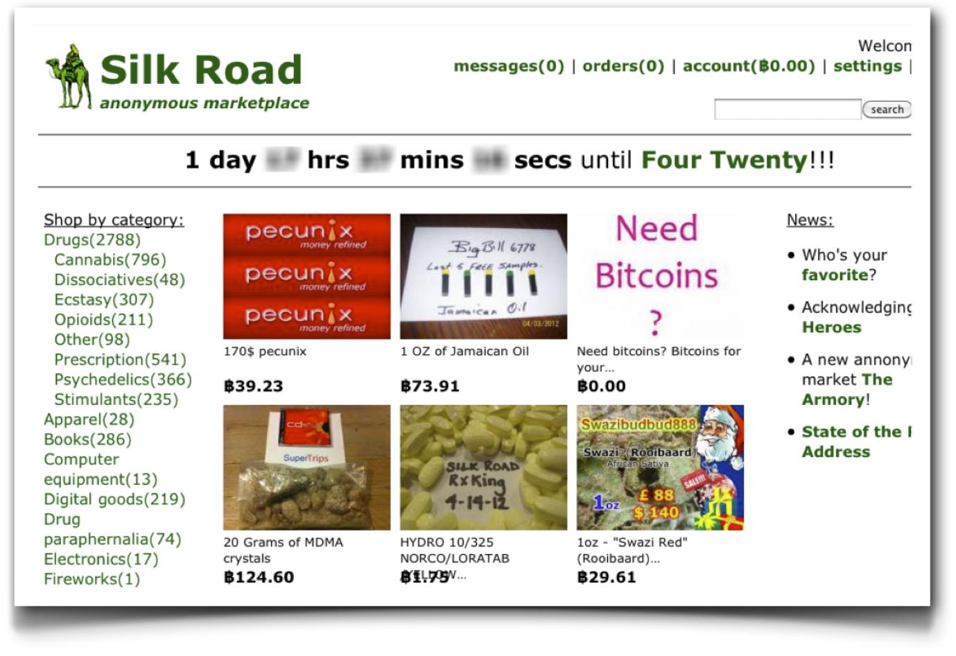 SilkRoad homepage