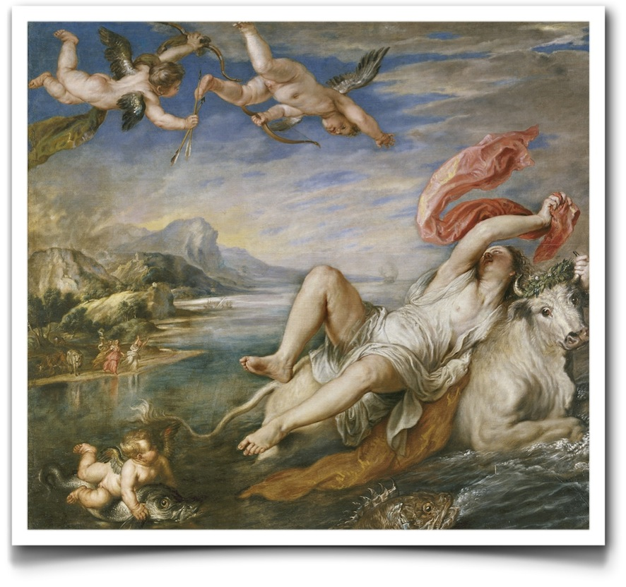 El rapto de Europa - Rubens