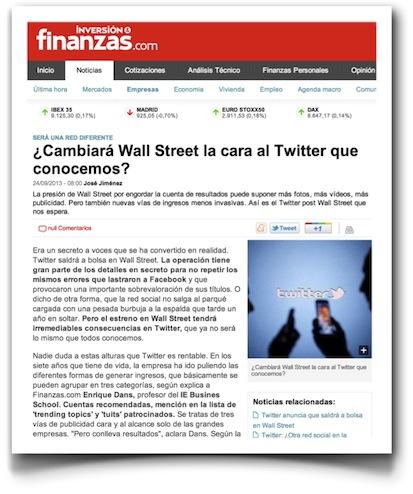 ¿Cambiará Wall Street la cara al Twitter que conocemos? - Finanzas.com