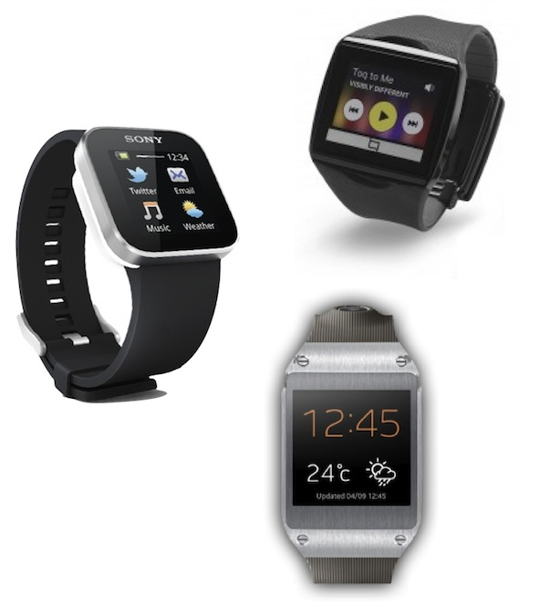 Sony, Samsung and Qualcomm smartwatches