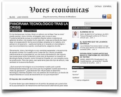 Panorama tecnológico tras la crisis - Voces Económicas