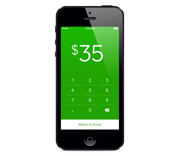 Square Cash app (Source: Square)