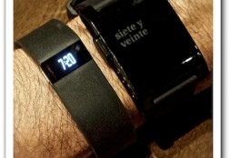 Fitbit Force and Pebble