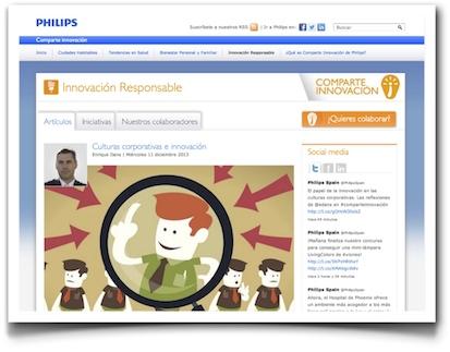 Culturas corporativas e innovación - Philips Comparte Innovación