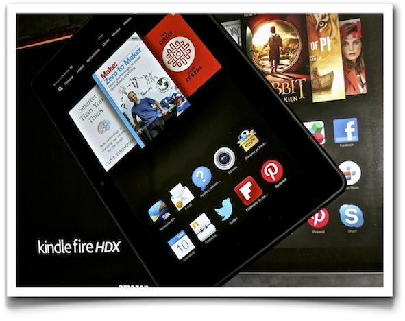 Kindle Fire HDX (IMAGE: Enrique Dans)