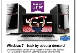 Windows 7 is back