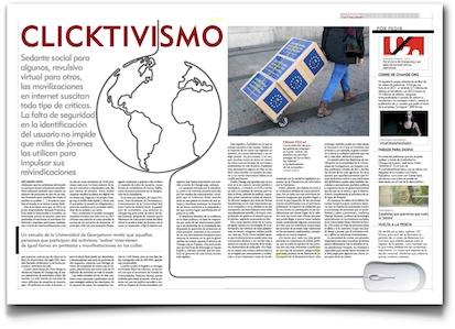 Clicktivismo - El Mundo (pdf, haz clic para leer al tamaño que quieras)