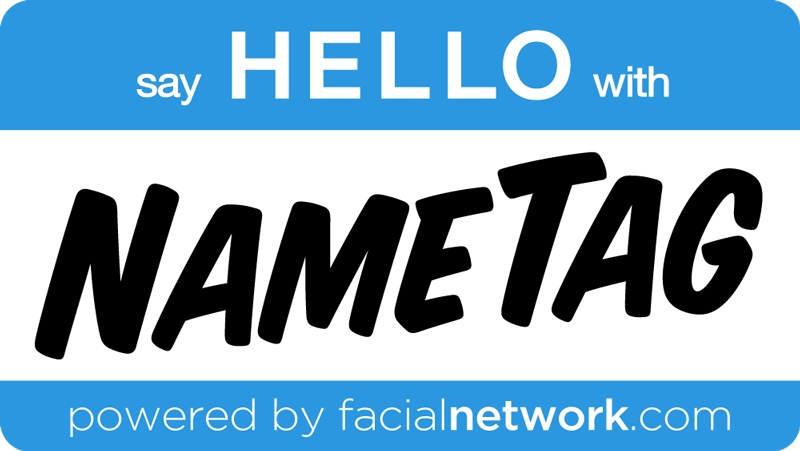 NameTag by FacialNetwork