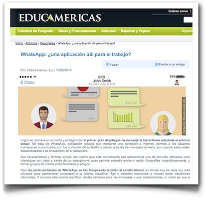 WhatsApp: ¿una aplicación útil para el trabajo? - Educamerica