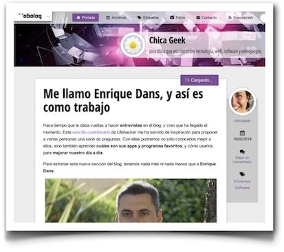 Me llamo Enrique Dans, y así es como trabajo - ChicaGeek