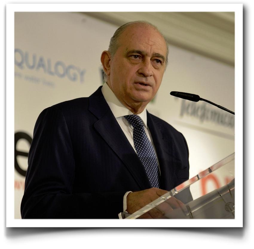Jorge Fernandez Diaz, Ministro del Interior