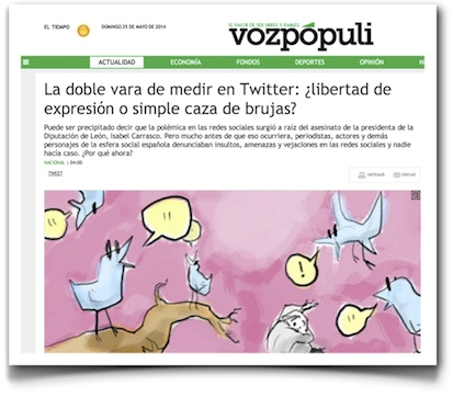 La doble vara de medir en Twitter: ¿libertad de expresión o simple caza de brujas? - VozPopuli