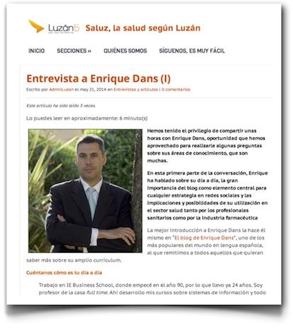 Entrevista a Enrique Dans - Luzán5