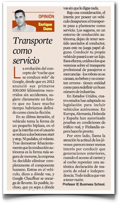 El transporte como servicio - Expansión (pdf)