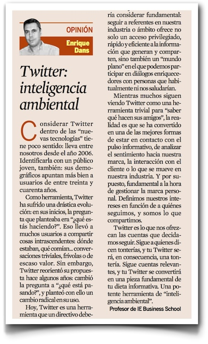 Twitter: inteligencia ambiental - Expansión (pdf)
