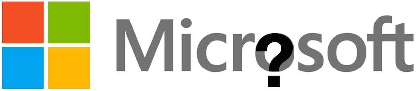 Microsoft question