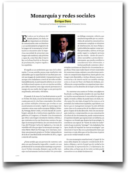 Monarquía y redes sociales - Capital (pdf)