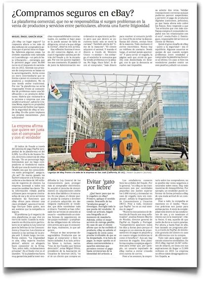 ¿Compramos seguros en eBay? - El País (pdf)