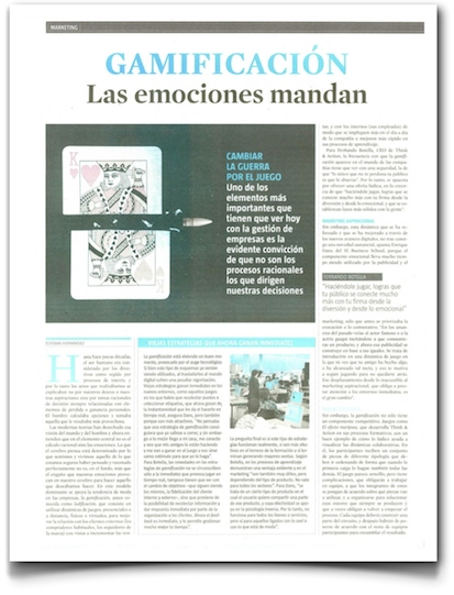 Gamificacion: las emociones mandan - La Vanguardia