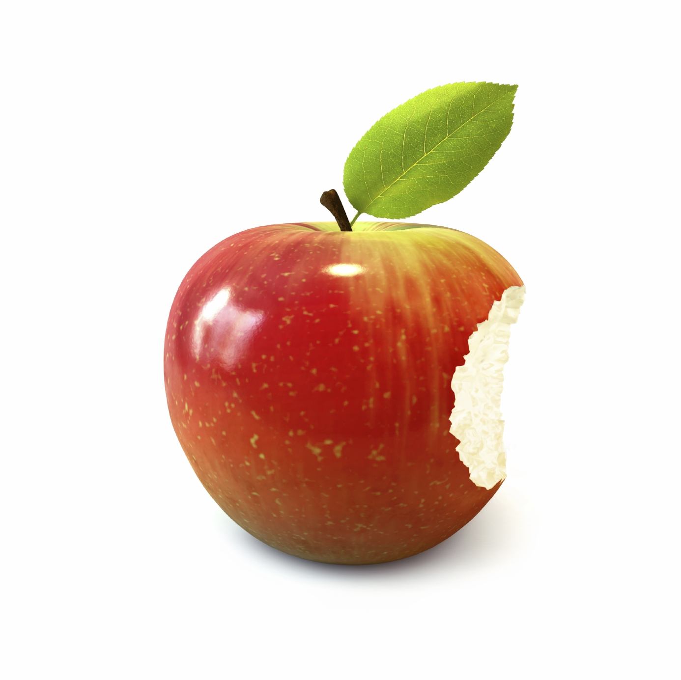 Real apple