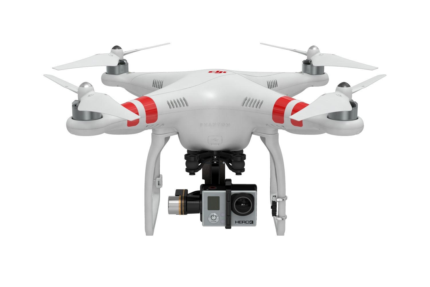 DJI Phantom con GoPro Hero 3