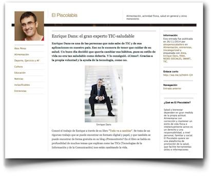 Entrevista - El Piscolabis
